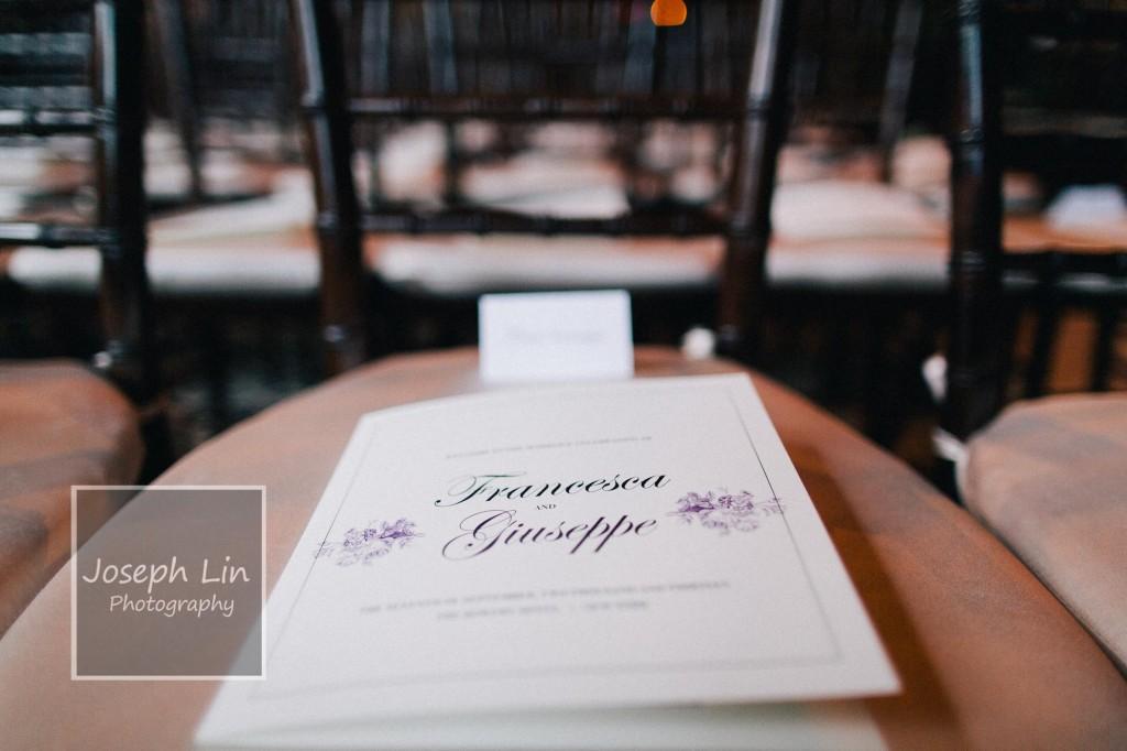 3 1024x682 Bowery Hotel   Francesca & Giuseppe (Joe)