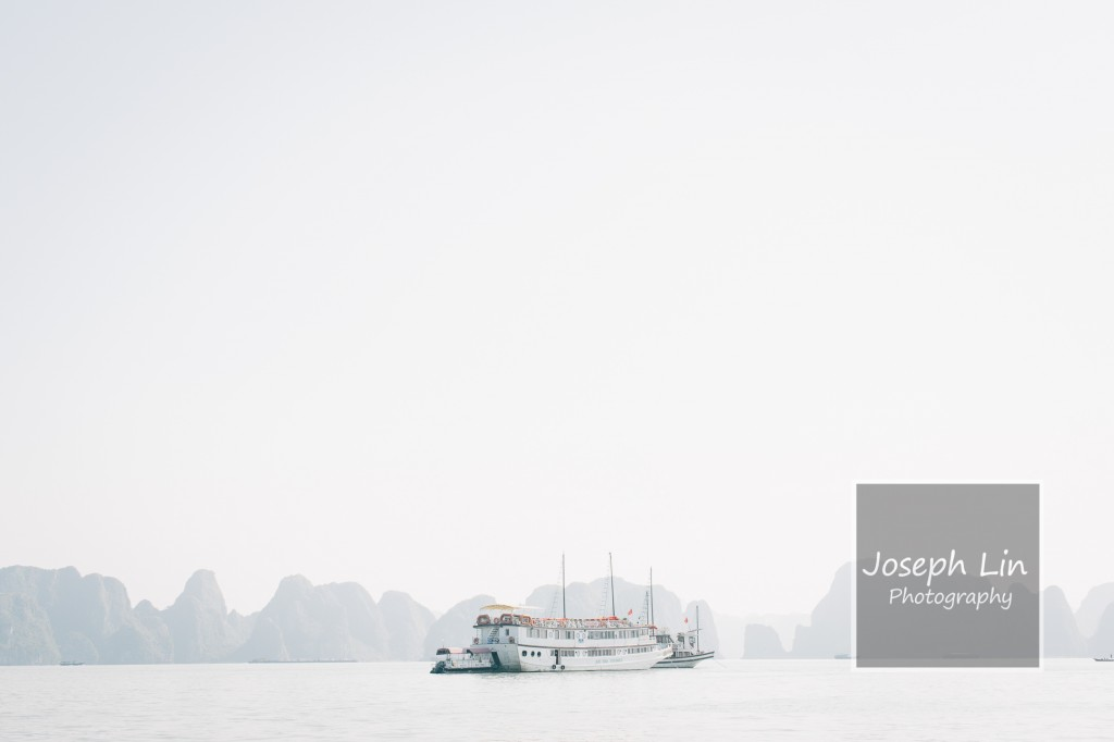 Ha Long Bay. Translation: Descending Dragon Bay
